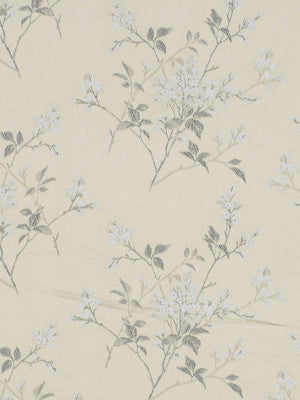 Floral Field Fabric - Frost