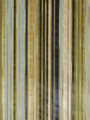 OPULENT STRIPES Sedium Fabric - Veranda