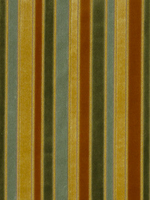 OPULENT STRIPES Rare Beauty Fabric - Botanical