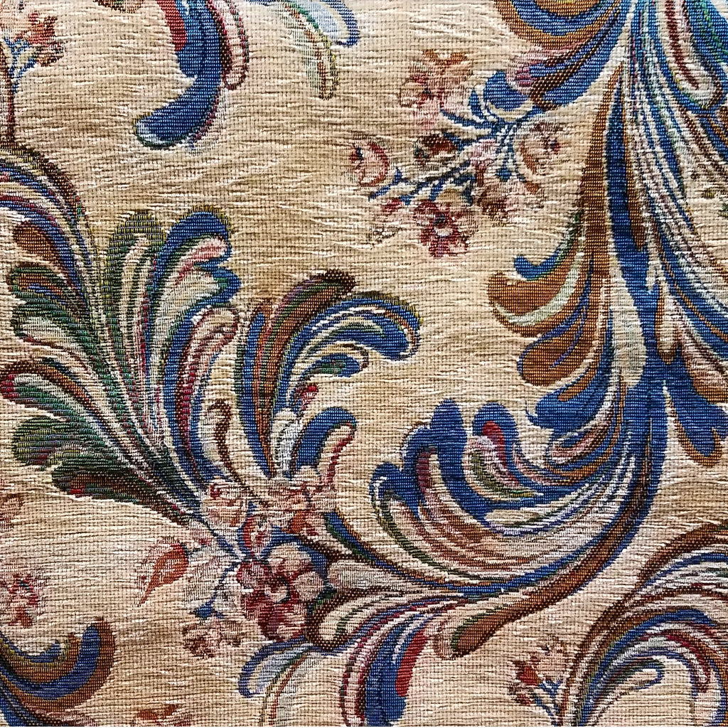 Paisley Multi Color Chenille