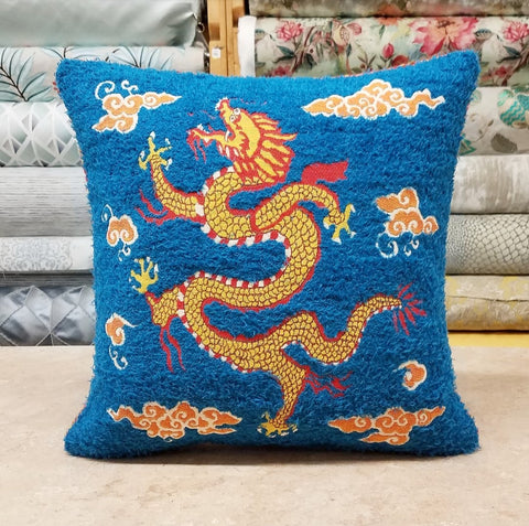 Sea Dragon Pillow
