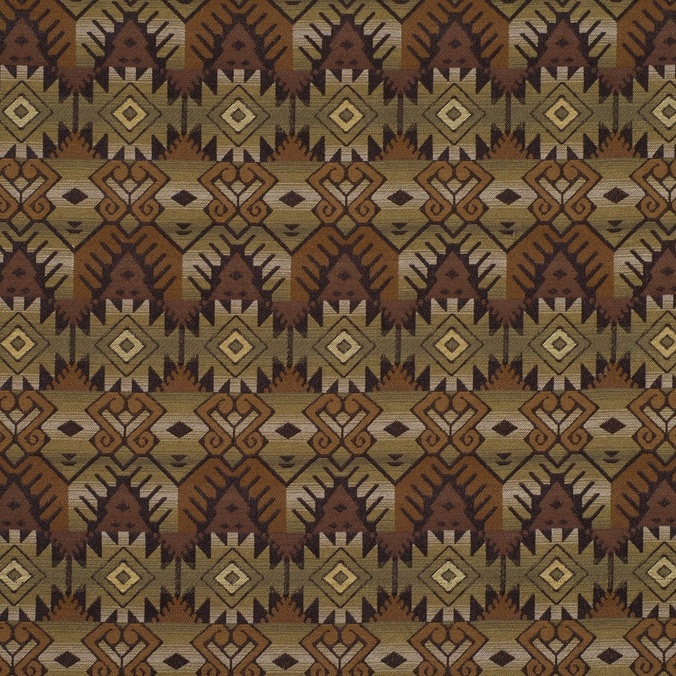 WOVENS Kickapoo Fabric - Cypress