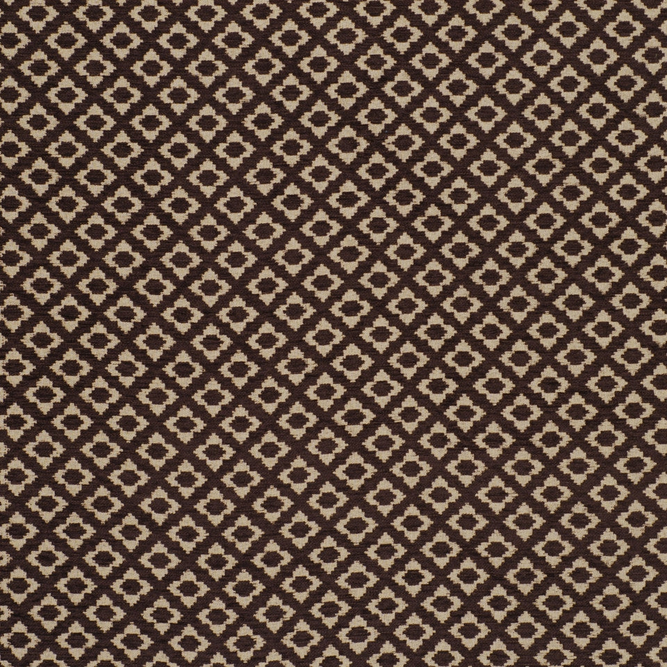 WOVENS Celosia Fabric - Chocolate