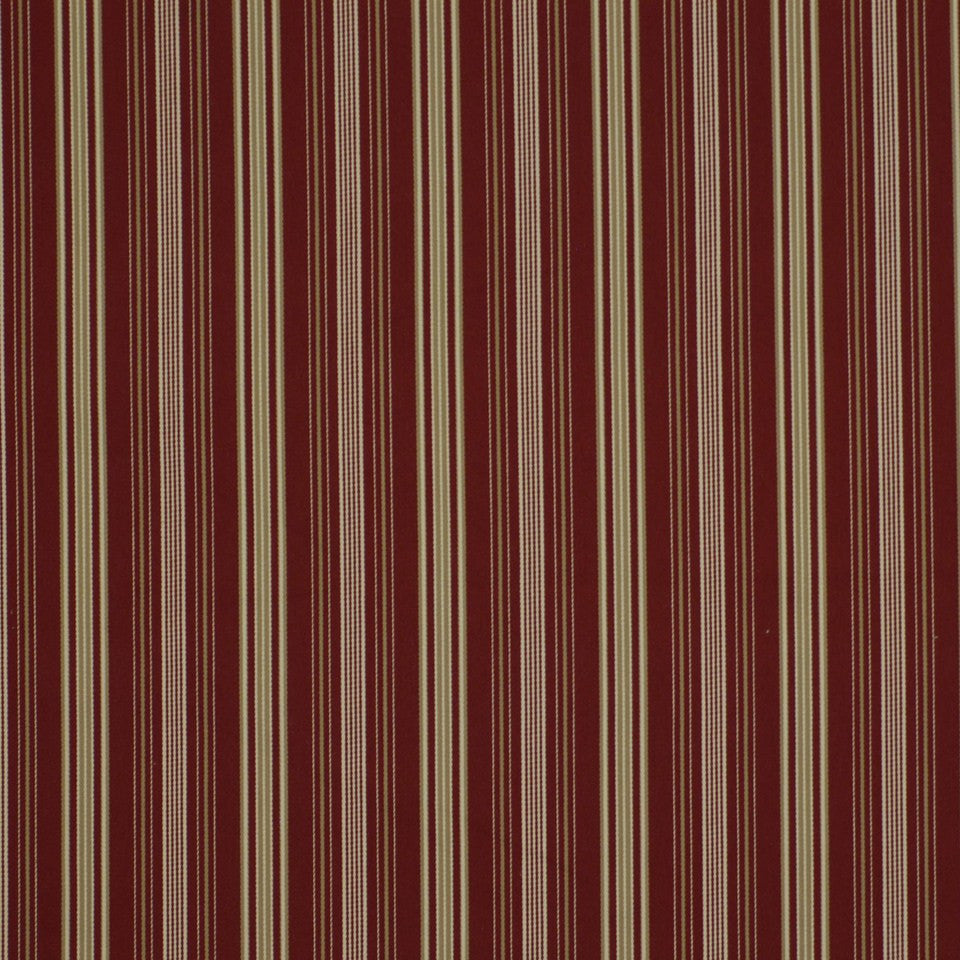Harbor View Fabric - Crimson