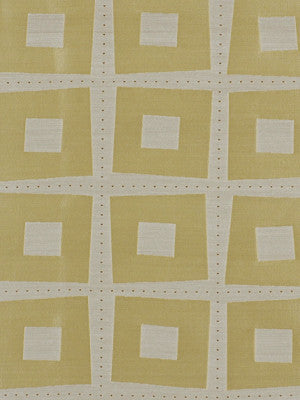 ELEMENTAL WINDOW II Modern Squares Fabric - Butter