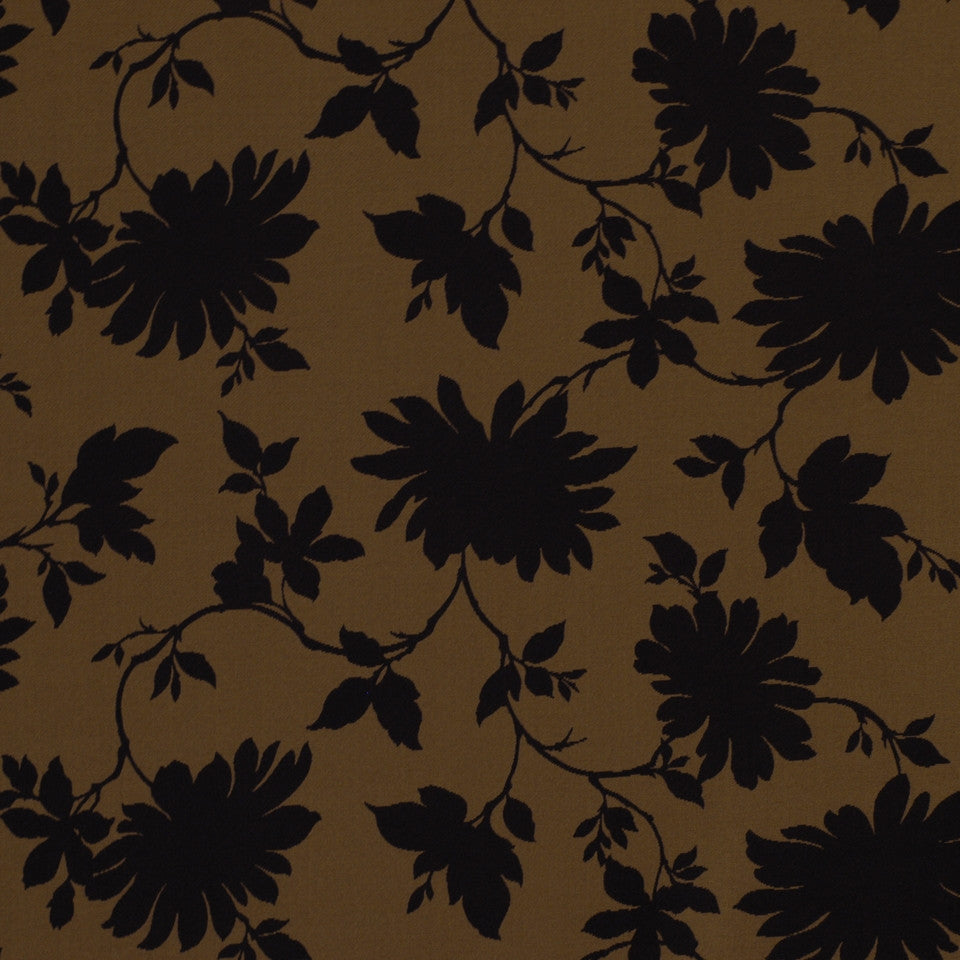 Myrtle Grove Fabric - Carbon