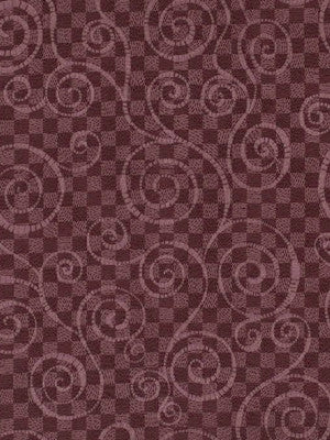 SILK HUES III Telescopium Fabric - Blackberry