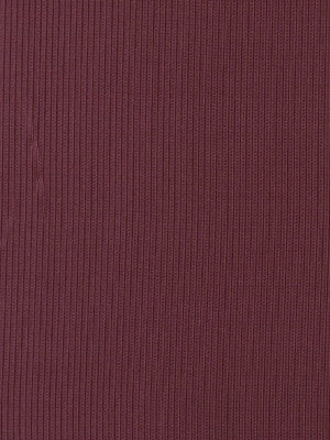 SILK HUES III Stately Stripe Fabric - Blackberry