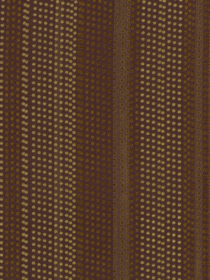 SILK HUES III Dotted Stripes Fabric - Blackberry