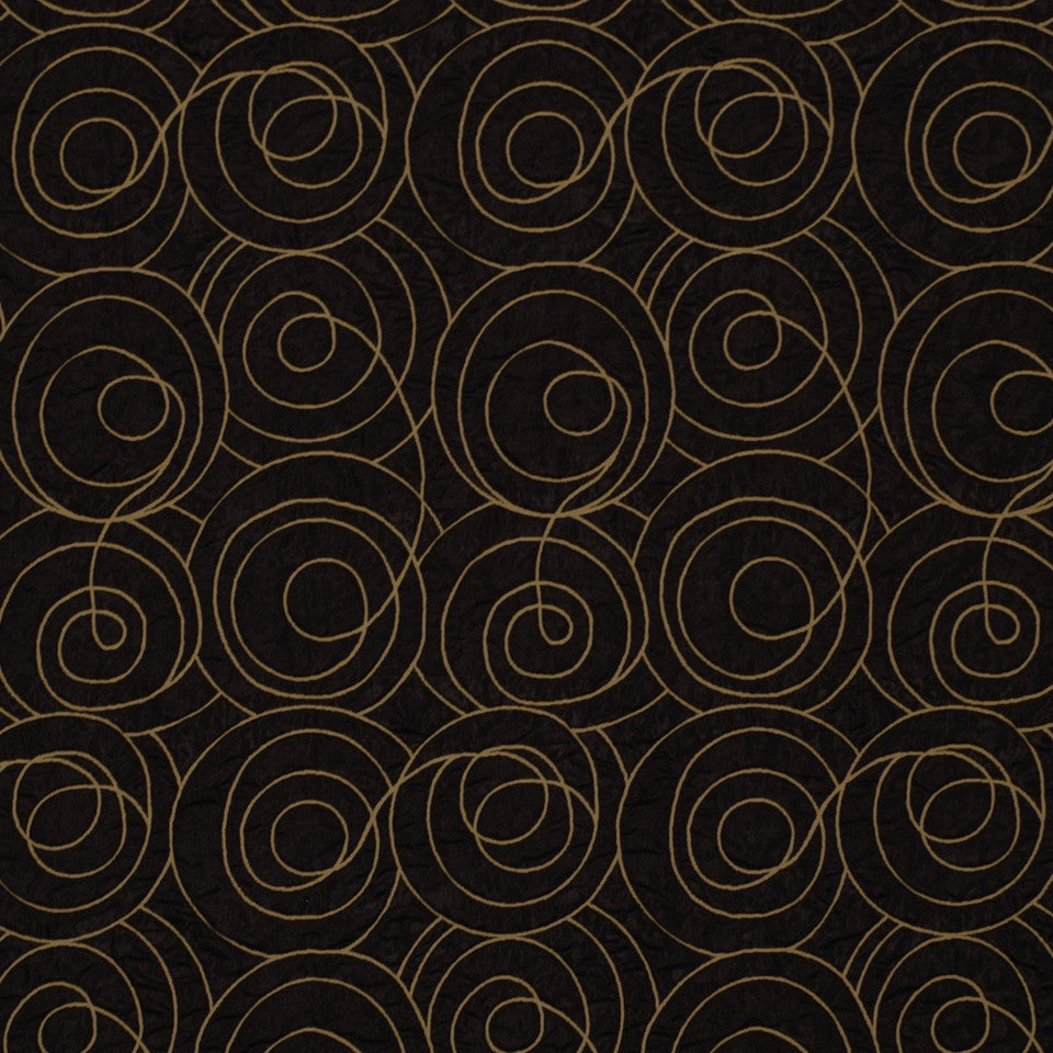 MODERN MAISON Time Loop Fabric - Noir