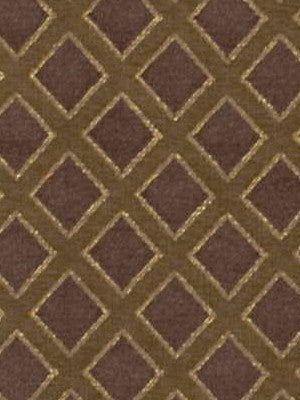 EARTH Lattice Sheen Fabric - Earth