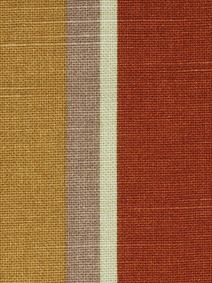 MODERN MAISON Escher Fabric - Terracotta