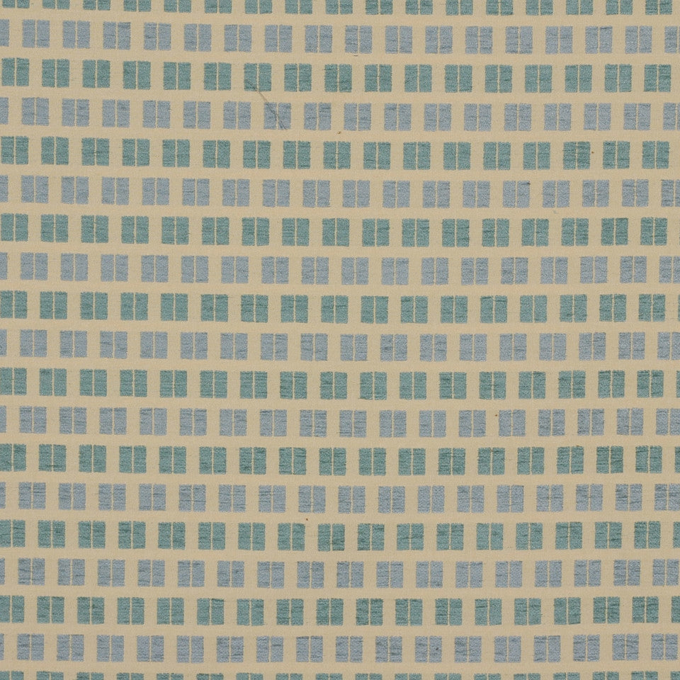 SHIP TO SHORE II Batten Down Fabric - Seaglass