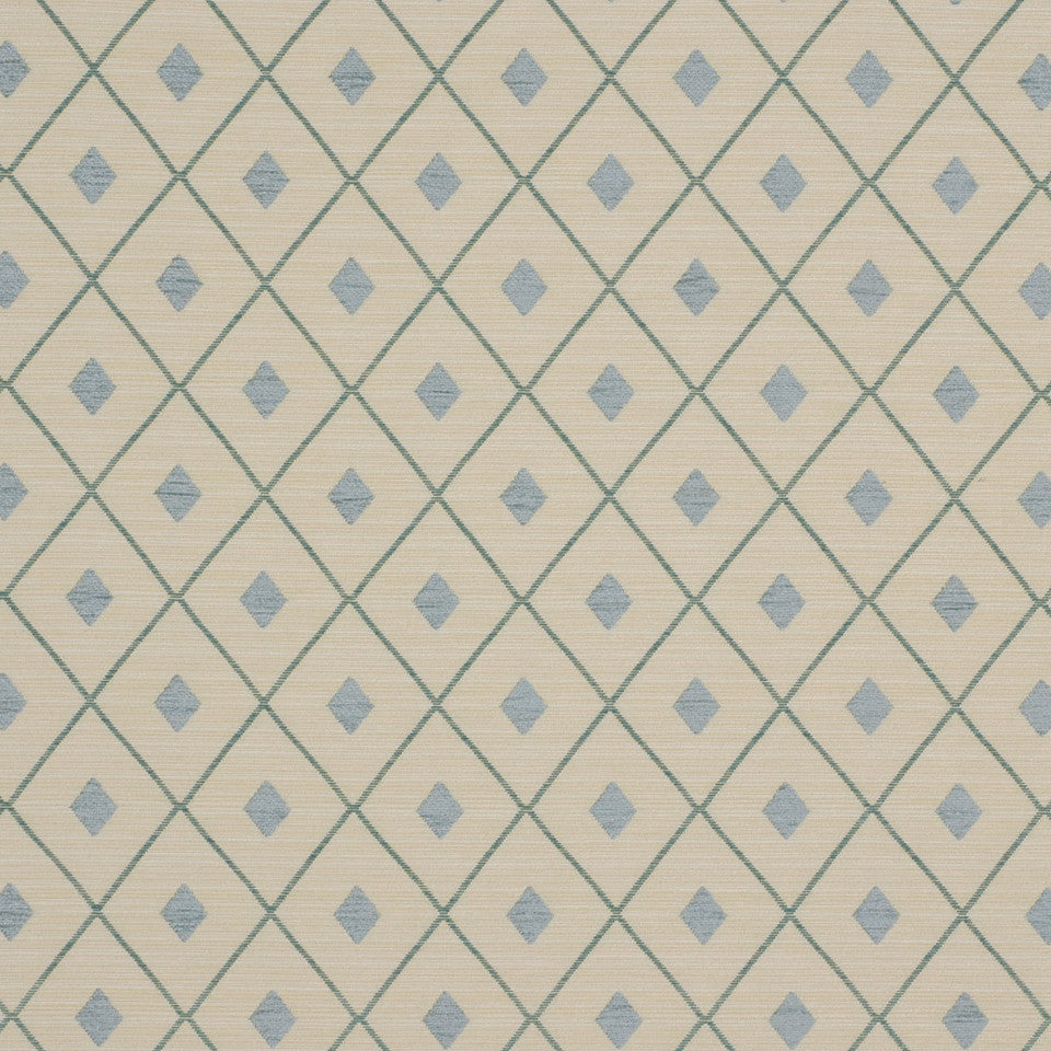 SHIP TO SHORE II Diamond Net Fabric - Seaglass