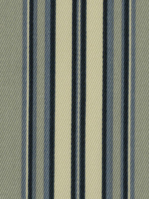 Shore Stripe Fabric - Indigo