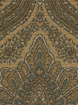DECORATIVE PERFORMANCE Starvish Fabric - Lagoon