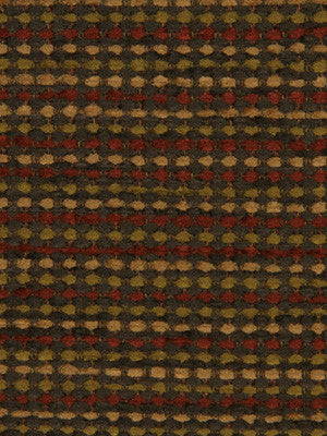 DECORATIVE PERFORMANCE Wexford Boys Fabric - Chestnut