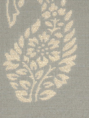 DECORATIVE PERFORMANCE Flower Picking Fabric - Capri