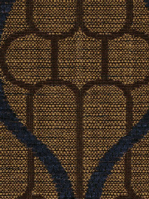 DECORATIVE PERFORMANCE Ogee Maze Fabric - Java
