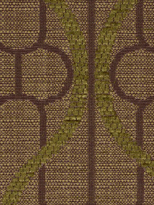 DECORATIVE PERFORMANCE Ogee Maze Fabric - Cargo