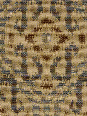 DECORATIVE PERFORMANCE Twist N Shout Fabric - Twilight
