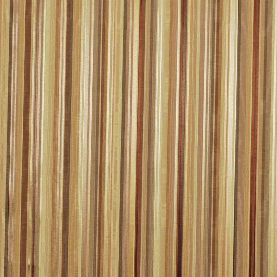 WARM Berra Stripe Fabric - Coconut