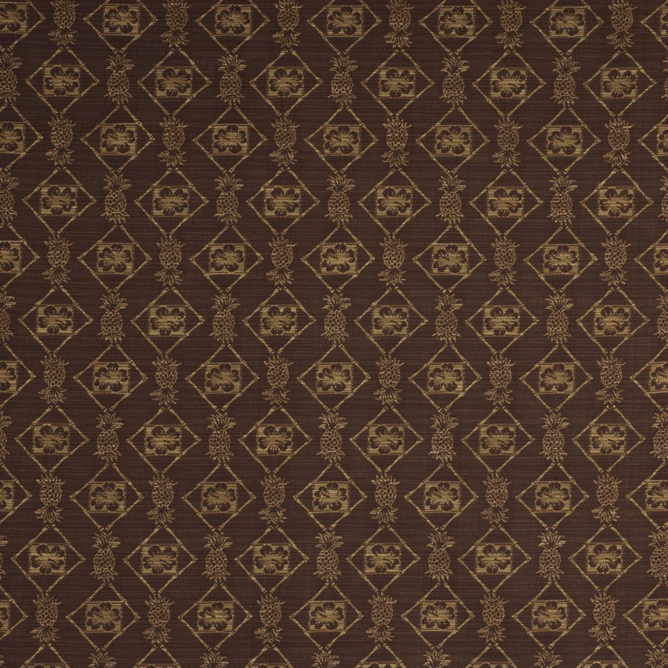 TOMMY BAHAMA Calypso Night Fabric - Butternut