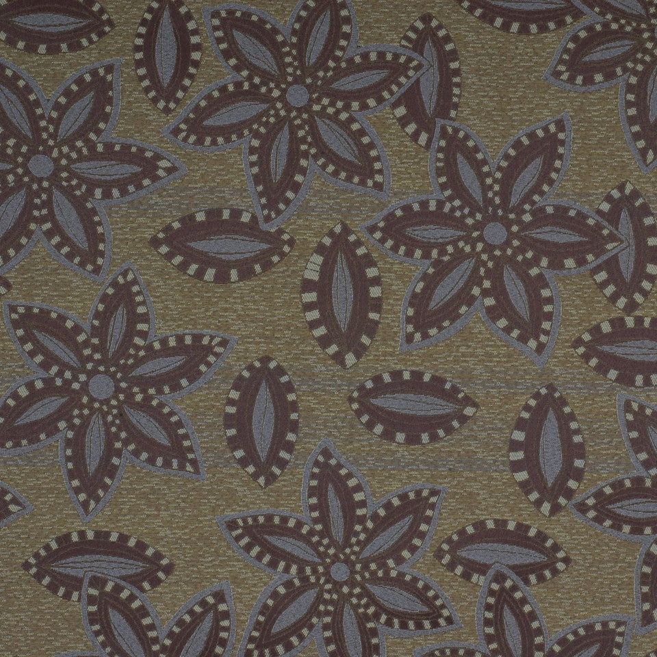 TOMMY BAHAMA Big Kahuna Fabric - Truffle