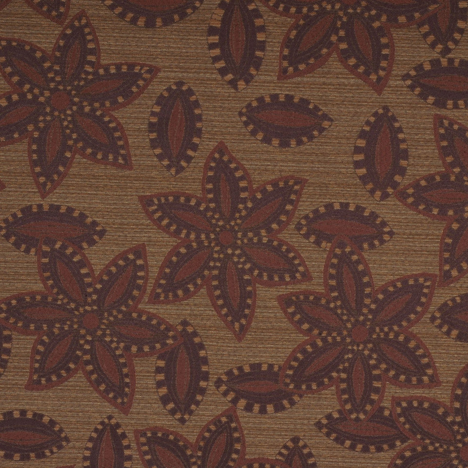 TOMMY BAHAMA Big Kahuna Fabric - Henna
