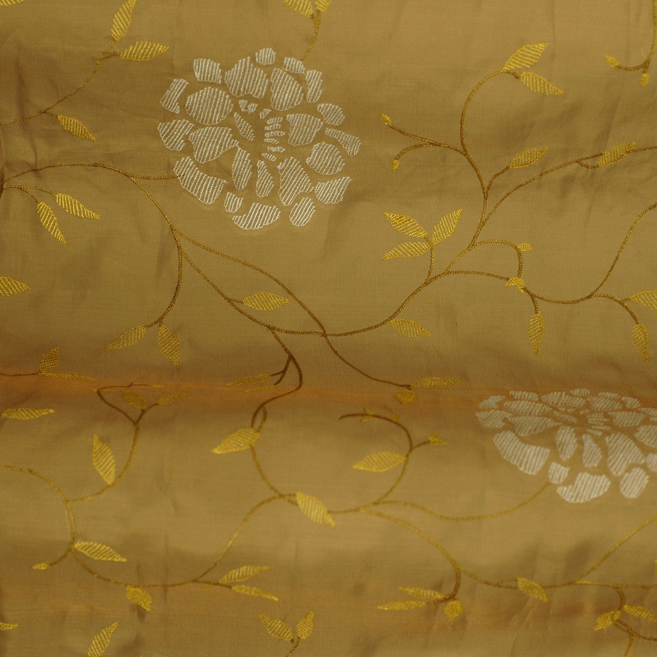EMBELLISHED SILK SHEERS Abbeywood Fabric - Topaz