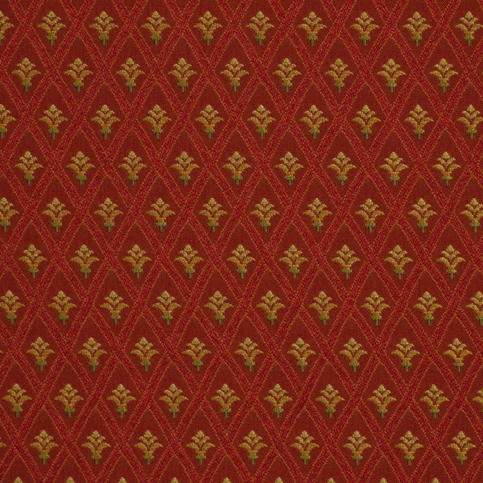 POMEGRANATE Sofocales Fabric - Pomegranate