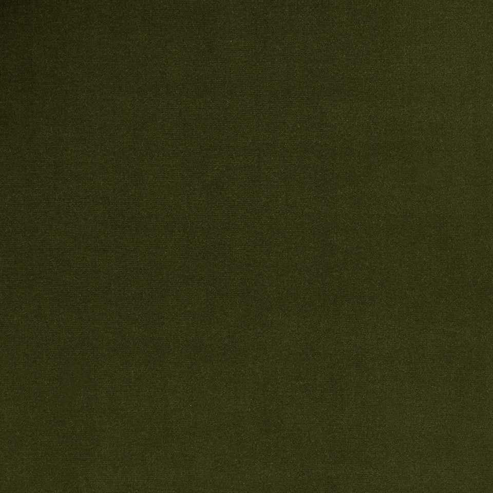 COTTON VELVET SOLIDS Lady Elsie Fabric - Moss