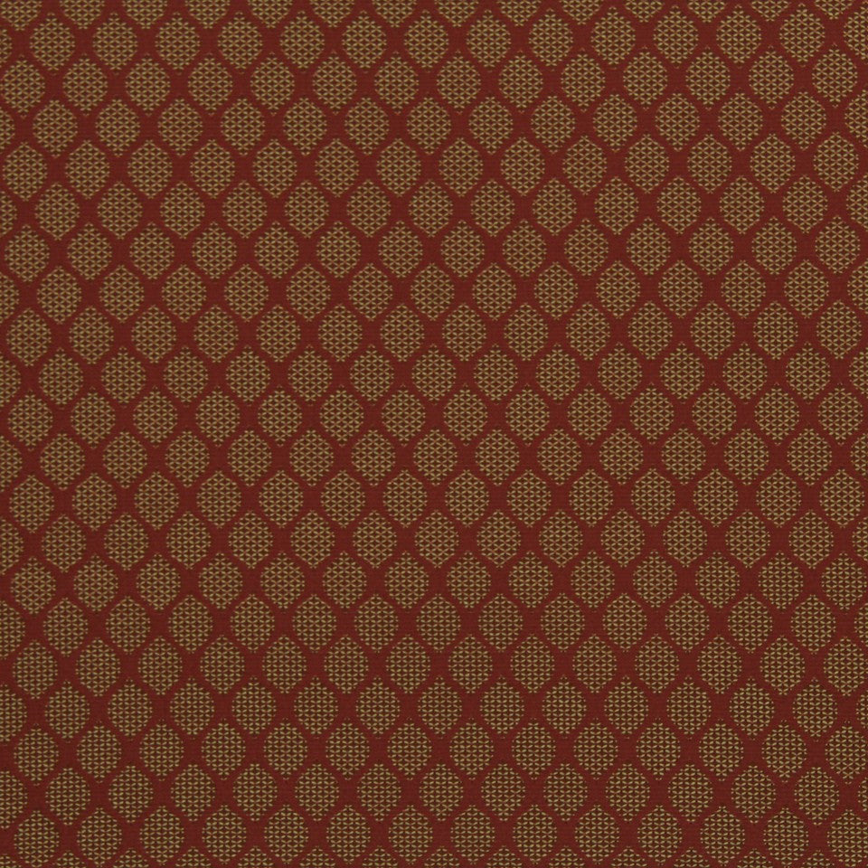 POMEGRANATE Modern Links Fabric - Pomegranate