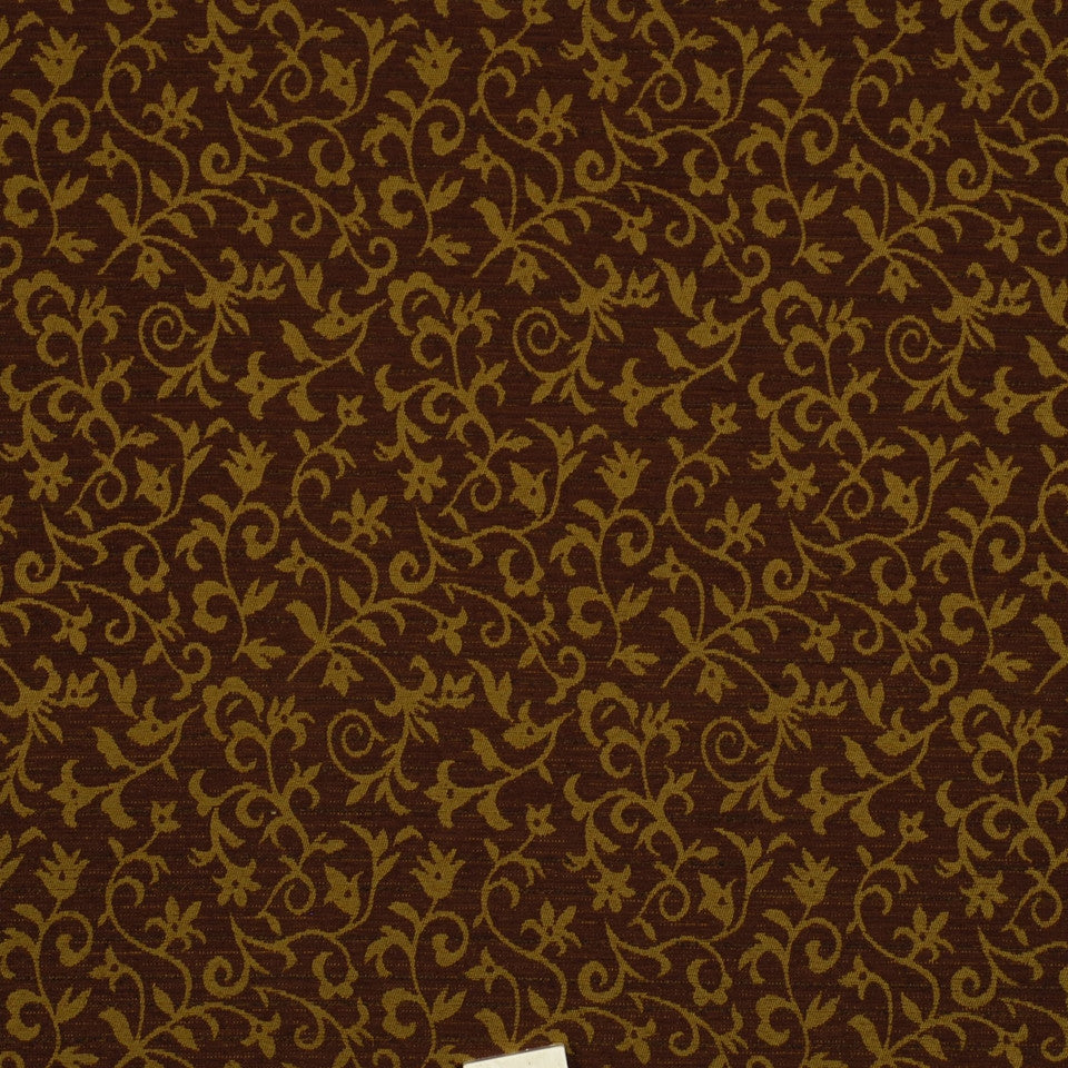 MIRAGE I Floral Grace Fabric - Marsh