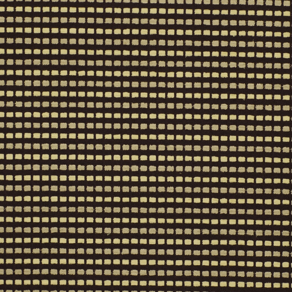 MIRAGE I Grand Central Fabric - Domino