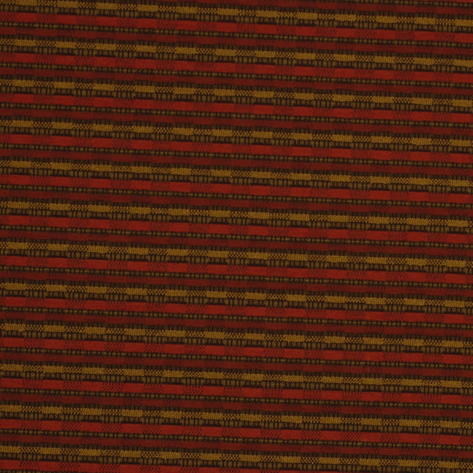 MIRAGE II Rush Hour Fabric - Vintage Red