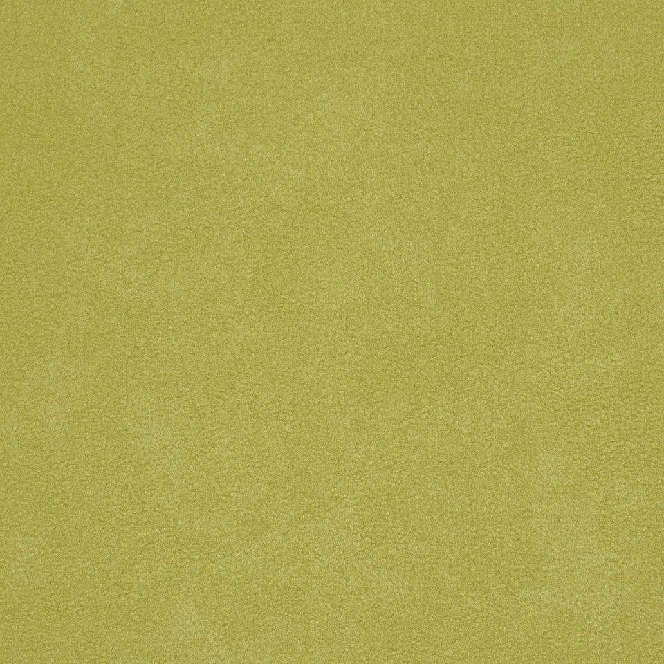 CORPORATE BINDER: PERFORMANCE/FINISHES DECORATIVE/UPH SOLIDS AND TEXTURES/ECO I Sensuede II Fabric - Key Lime