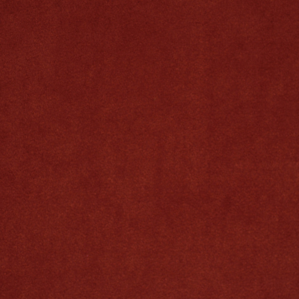 CORPORATE BINDER: PERFORMANCE/FINISHES DECORATIVE/UPH SOLIDS AND TEXTURES/ECO I Sensuede II Fabric - Tuscan Red
