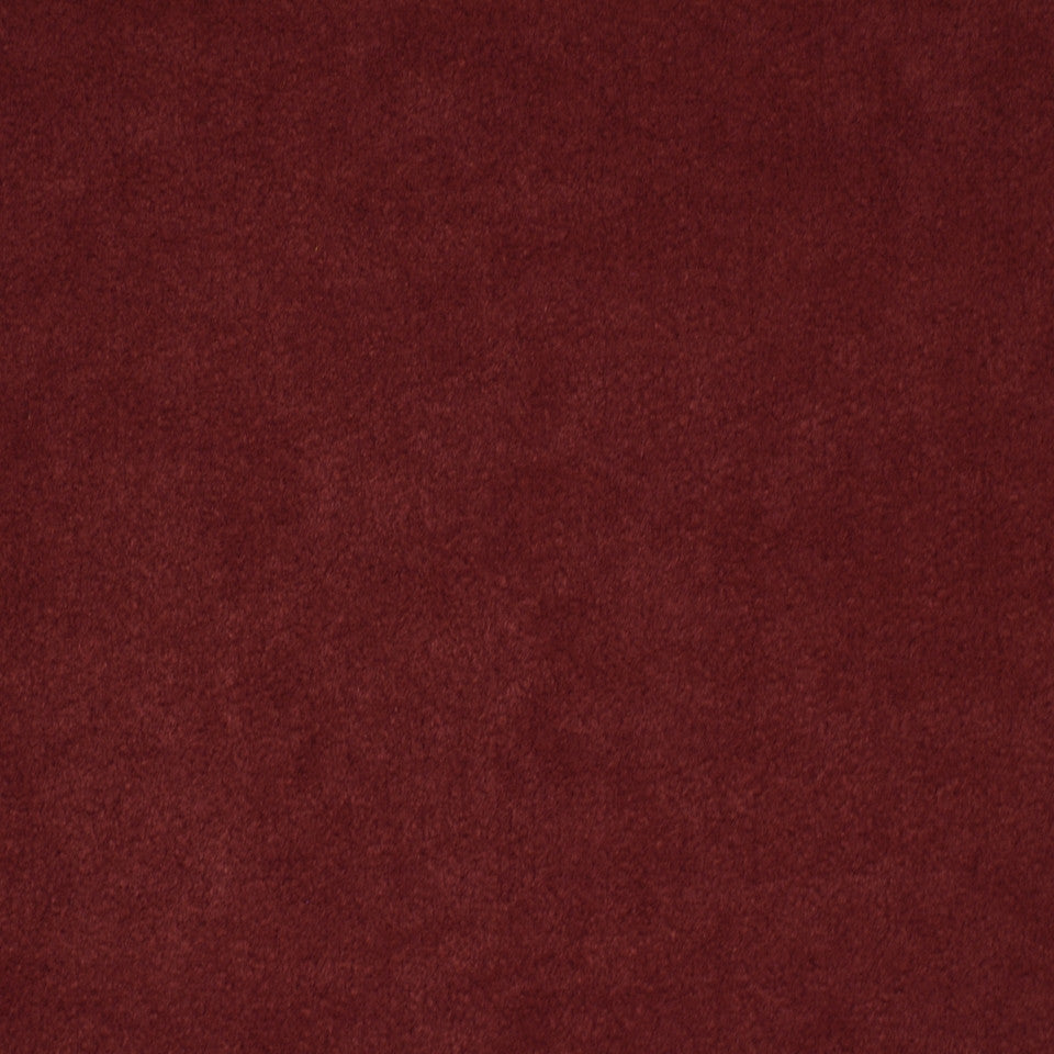 CORPORATE BINDER: PERFORMANCE/FINISHES DECORATIVE/UPH SOLIDS AND TEXTURES/ECO I Sensuede II Fabric - Garnet