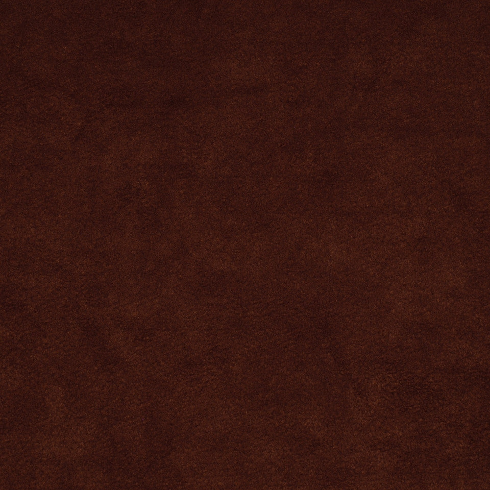 CORPORATE BINDER: PERFORMANCE/FINISHES DECORATIVE/UPH SOLIDS AND TEXTURES/ECO I Sensuede II Fabric - Mahogany