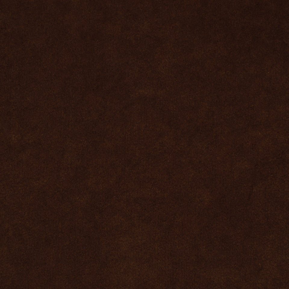 CORPORATE BINDER: PERFORMANCE/FINISHES DECORATIVE/UPH SOLIDS AND TEXTURES/ECO I Sensuede II Fabric - Cocoa