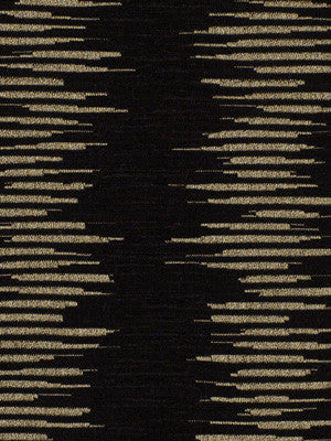 EBONY Silk Ripple Fabric - Ebony