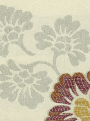 MADEIRA Blooming Roses Fabric - Plum