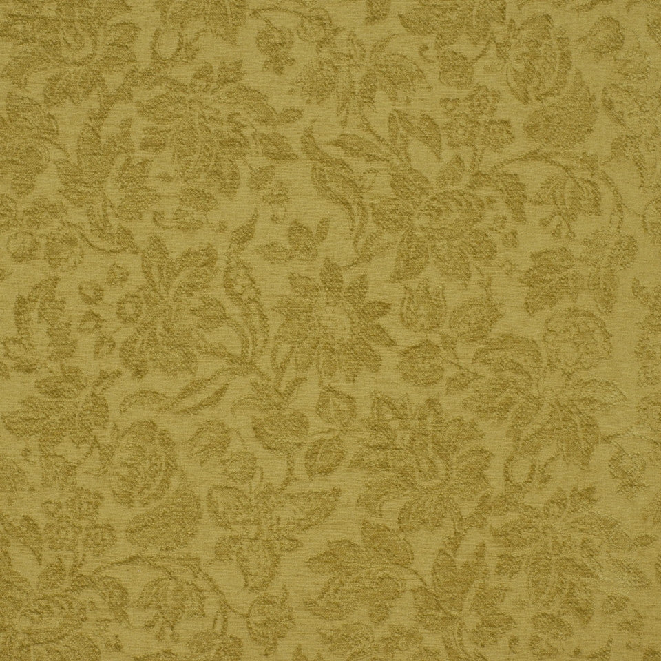 GREEN Garden Royalty Fabric - Leaf