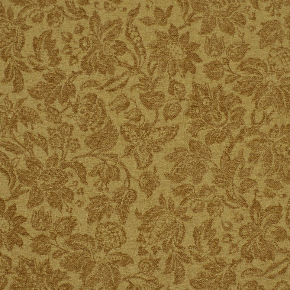 GREEN Garden Royalty Fabric - Meadow