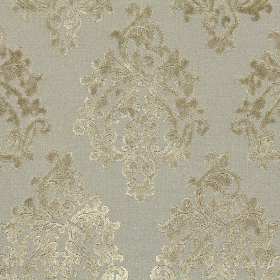 STERLING Royal Beauty Fabric - Sterling