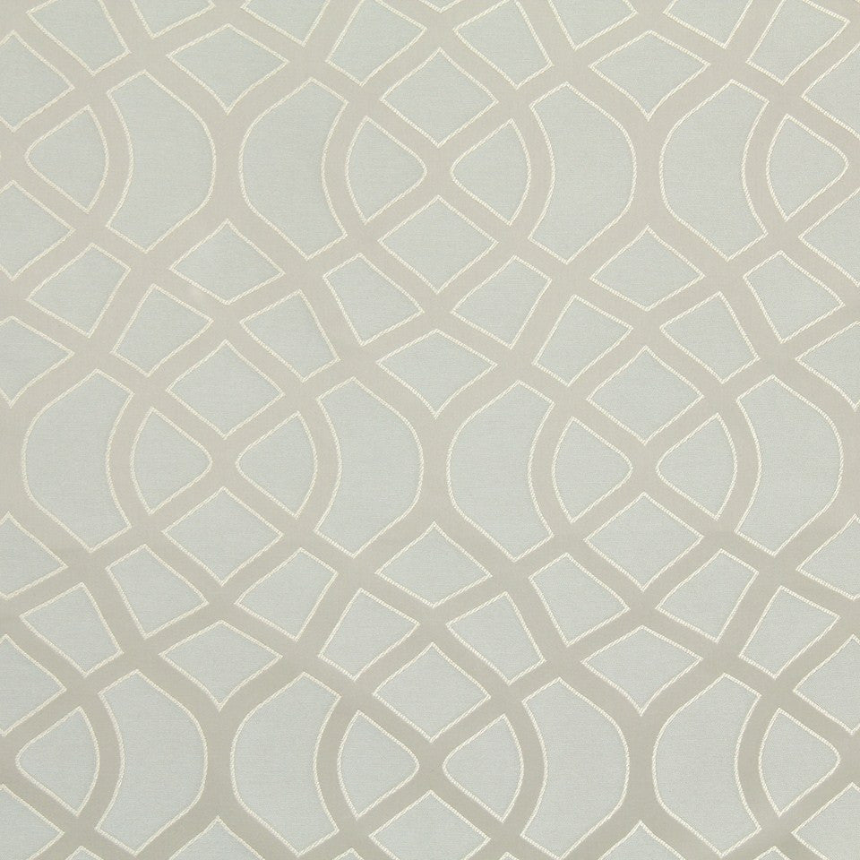 STERLING Spiral Path Fabric - Sterling