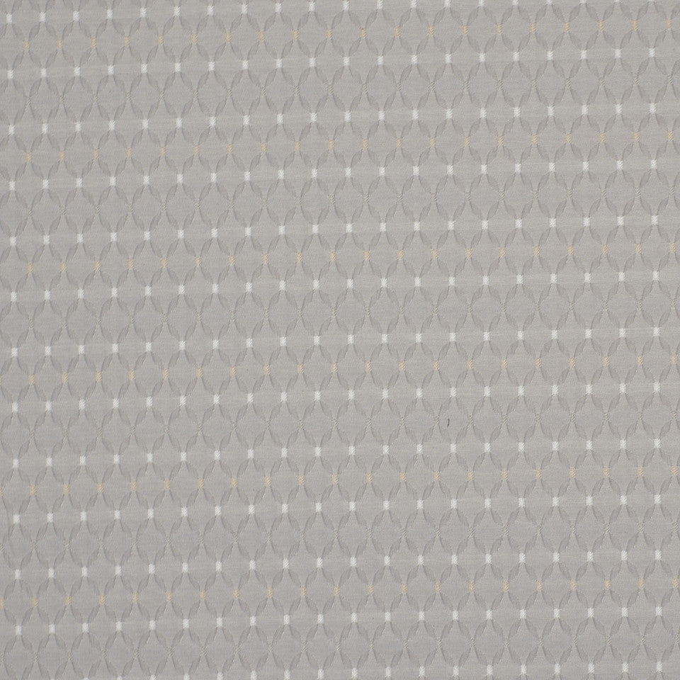 STERLING Galeno Square Fabric - Sterling