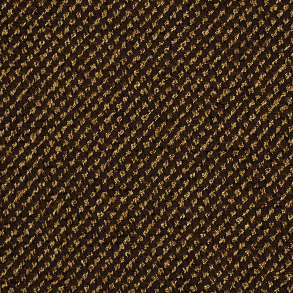 DARK NEUTRAL Iguazu Fabric - Espresso