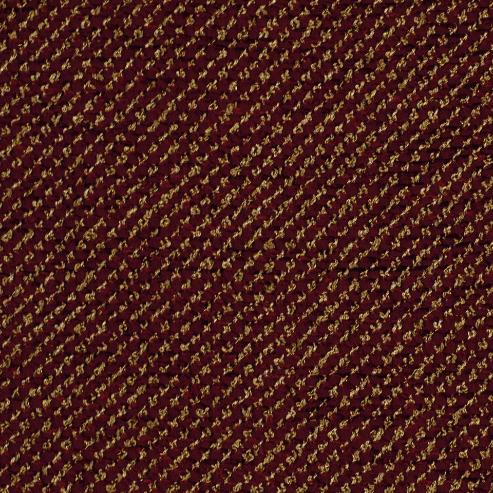 RED Iguazu Fabric - Merlot